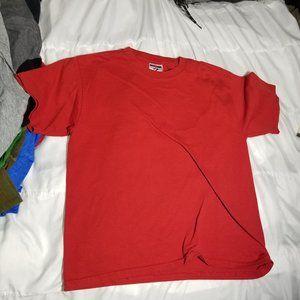Plain red youth teeshirt